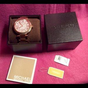 Michael Kors Watch, Rose Gold!